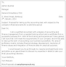 Bookkeeping Proposal Accounting Services Proposal Letter Sample
