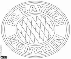 Fc Bayern Logo Einzigartig Kleurplaten Voetbal Bayern Munchen