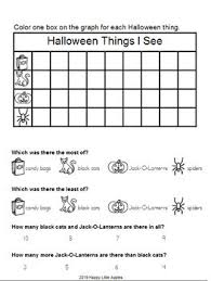 Online Tally Chart Counter Halloween Set Graph Lesson Plan Counting Tally Chart Bar Graph Analyzing
