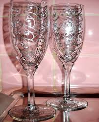 Wine Glass Decorating Designs Wine Glass Decorating Ideas Perfect Bathroom Accessories Interior A 77