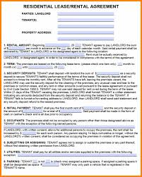 Sublease Form Agreement Sample Sublet Lease Template Sublease Form