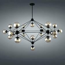 globe chandeliers clear glass globe chandelier modern chandeliers iron er pendant chandelier black large led ceiling