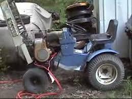1970 sears suburban lawn tractor 12hp tecumseh