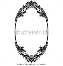 vintage frame design oval. Oval Vintage Frame. Mirror. Border. Decorative Invitation Frame Design R