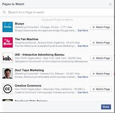how to great ideas to target your facebook ads by interests facebook pages to watch