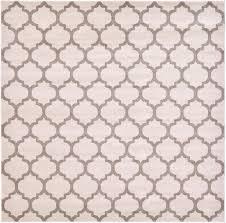 305cm x 305cm trellis square rug