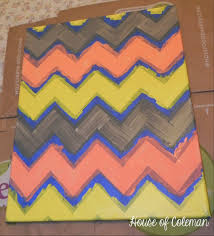 chevron canvas wall art diy house in coleman in awesome  on chevron canvas wall art diy with enchanting thingsto paint on things to paint on canvas home then