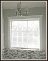 Glass For Bathroom Engineering Life And Style Framing A Glass Block Bathroom Window