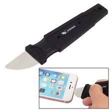 metal spudger. anti-slip handle stainless steel metal spudger opening pry tools for iphone ipad
