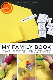 Simple Family How To Create A Simple Family Book With Toddlers