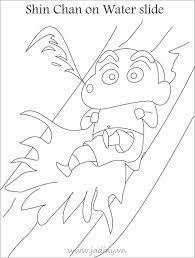 Tranh tô màu shin cậu bé bút chì ý nghĩa cho bé ✔️Cẩm Nang Tiếng Anh ✔️
