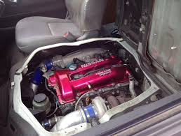 Toyota HiAce with a Nissan SR20DET – Engine Swap Depot