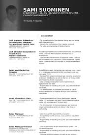 Manager Resume Template Enchanting It Manager Resume Samples VisualCV Resume Samples Database