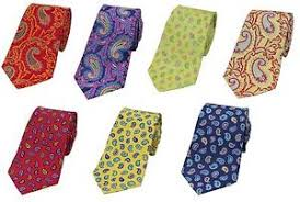 Tie Patterns Gorgeous Multi Range Of Different Paisley Silk Tie Patterns EBay