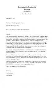 Cover Letter For Pe Teachers Job Ameliasdesalto Com