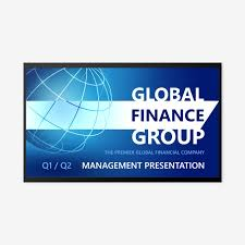 Powerpoint Financial Financial Powerpoint Presentation Deck Template Idesign