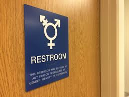 California Assembly Passes Genderneutral Restrooms Bill  KPCC - Restroom or bathroom