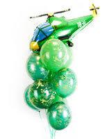 «Веселая затея <b>Букет</b> гелиевых шаров №31 зеленых ...