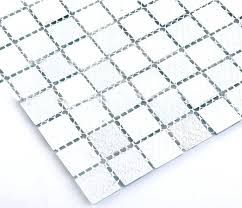blue swimming pool shower floor mesh backed mosaic tiles small