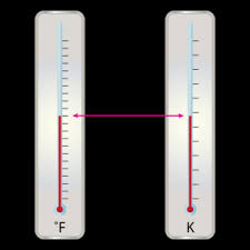 at what rature does both fahrenheit and kelvin thermometers read the same value