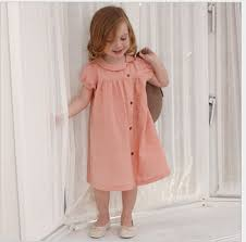 2016 Baby Girls Cotton Linen Dresses Kids Girl Summer Ruffle Casual TuTu  Fashion Dress Children's Clothing