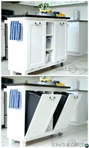kitchen cabinet garbage kitchen cabinet garbage can cabinet kitchen island with tilt out trash can smart