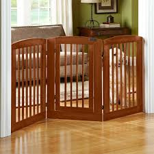 orvis dog crate furniture. threepanel dog gate with door stylish secure protection for and domicile orvis crate furniture