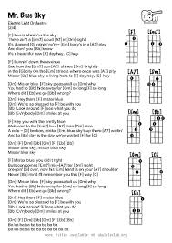 mr blue sky piano sheet music free blue sky pdf parlo buenacocina co
