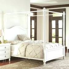 decoration: Full Size Of Furniture Alluring White Canopy Bed Frame ...