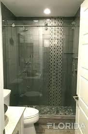 frameless roller shower door walk inline sliding