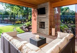 metal outdoor fireplace metal roofing headquarters for custom built stonework outdoor fireplaces our design team can