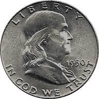1950 D Ben Franklin Half Dollar Value Cointrackers