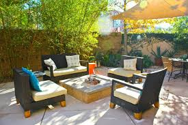 concrete patio with square fire pit. Patio Ideas: Garden And Saving Small Spaces Backyard House Design With. Medium Size Of Concrete Designs With Fire Pit Square