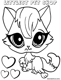 Small Picture Littlest Pet Shop Coloring Pages Coloring Pages To Download And
