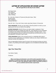 Opening Of Cover Letter Rare Open Application Letter For Employment Sample Template