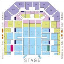 take that seating plan at flydsa arena