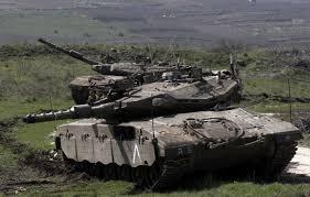 Resultado de imagem para fotos ou imagens dos bombardeamentos nos Montes Golan