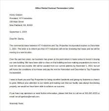 Letter To Terminate Contract With Supplier Supplier Contract Termination Letter Sample Doc