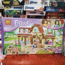 10562] Bộ đồ chơi Lego Friends Trại đua ngựa