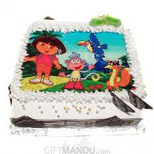 Dora Birthday Cake Online Delivery Shop Gifts To Nepal Giftmandu