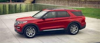2020 Ford Explorer Color Chart 2020 Ford Explorer Exterior Color Options Akins Ford
