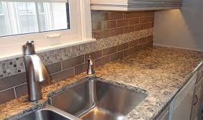 silestone mediterranean quartz countertop and tile back splash