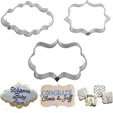 Decorative Text Boxes 100pcs Hot Decorative Frame Text Box Cookie Mold Stainless Steel 48