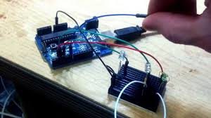 arduino touch lamp using a capacitive touch sensor algorithm an led you