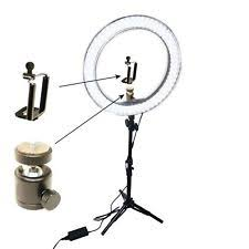 makeup light stand. ex-pro 5400k 55w led ring light with 90cm stand photo video uk makeup