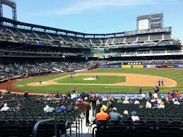 Citi Field Baseball Seating Chart Best Seats For Great Views Of The Field At Citi Field