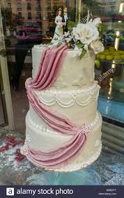 Paris France Shopping French Pastries Traditional Wedding Cake