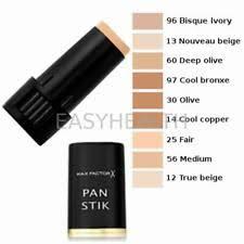 Max Factor Pan Stick Makeup Color Chart Max Factor True Beige For Sale Ebay