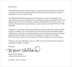 Best Photos Of Appreciation Letter Retirement Sample Employee Sample