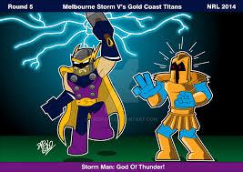 Melbourne storm v canberra raiders 7h ago 2014 Nrl Rnd 05 Melbourne Vs Titans By Drew0b1 On Deviantart